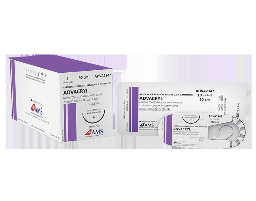Chỉ phẫu thuật ADVACRYL Polyglactin-910