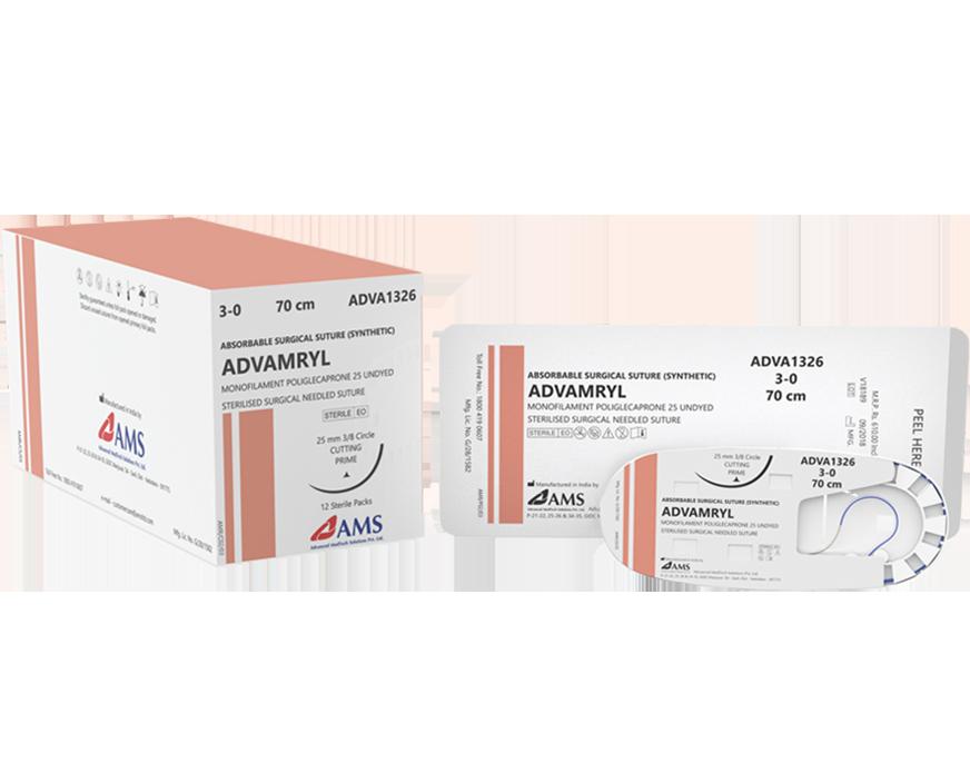 Chỉ phẫu thuật ADVAMRYL Poliglecaprone 25
