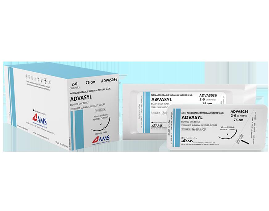 Chỉ phẫu thuật ADVASYL Proteinaceous silk fibers called Fibroin