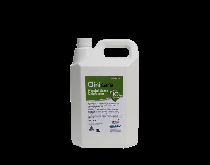 Dung dịch làm sạch và khử khuẩn bề mặt, dụng cụ Hospital Grade Disinfectant (can 5l)