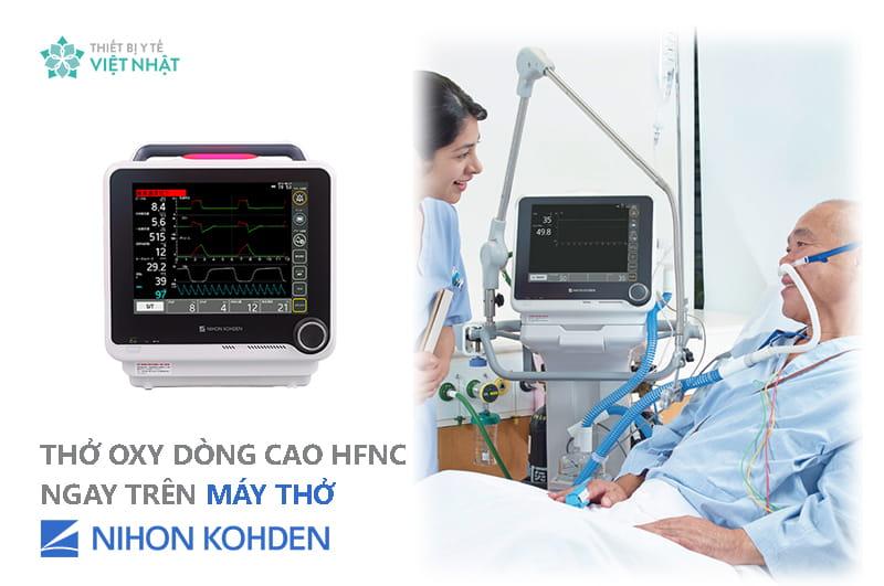 Lợi ích thở Oxy dòng cao (HFNC) với bệnh nhân Covid-19