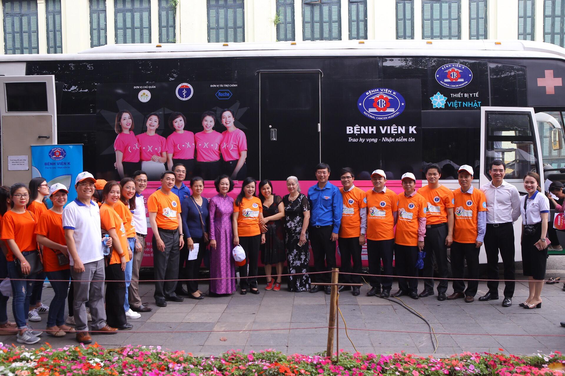 JVC hưởng ứng chương trình Sức khỏe Việt Nam 2019