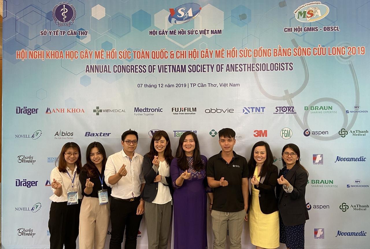 Máy siêu âm Sonimage HS1 của JVC được đánh giá cao tại Hội nghị Gây mê hồi sức toàn quốc 2019