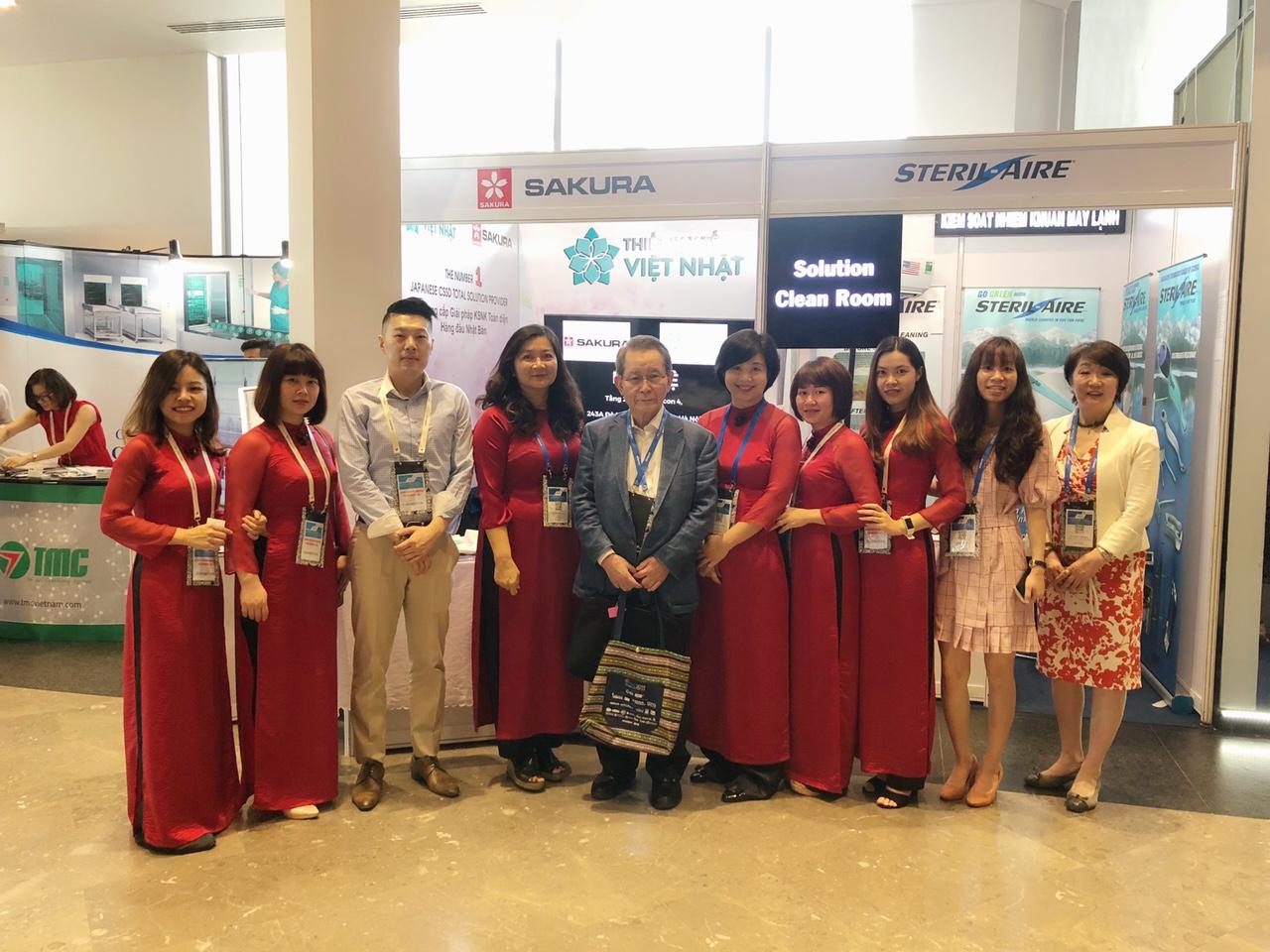 Hội nghị APSIC: Sản phẩm kiểm soát nhiễm khuẩn do JVC phân phối được khách hàng quan tâm và đánh giá cao
