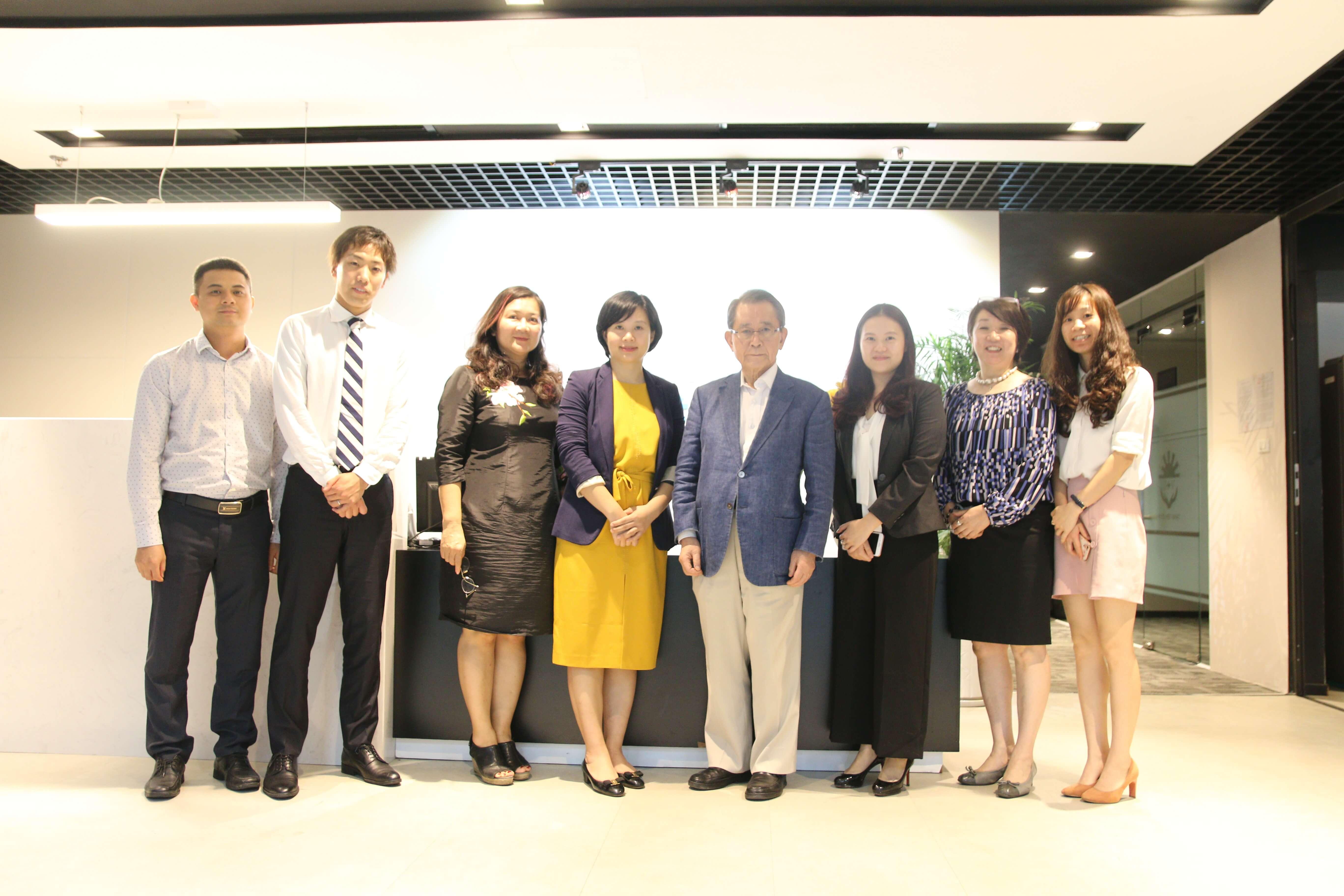JVC tiếp đón Chủ tịch tập đoàn Sakura Global & lãnh đạo Sakura Seiki đến thăm và làm việc tại trụ sở Hà Nội